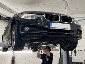 BMW 320D Xdrive 2.0,135kw, 2013, oprava xdrive