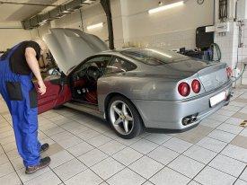 Ferrari 550 Maranello 5.5, 357kw