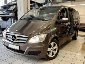 Mercedes Benz Viano CDI 3.0/L, 165kw,2012, 722.6