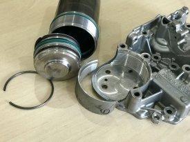 Oprava DSG7 DQ200 po explozi zásobníku mechatroniky tlak od25bar