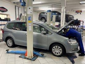 Volkswagen Sharan, 103kw, 2011, 02e