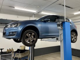 VW Golf DSG7, oprava úniku tlaku na mechatronice