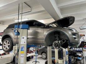 Výměna oleje v převodovce 9hp48 Range Rover