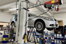 BMW 3, 3.0, 180kw, ZF6hp výměna oleje v automatické převodovce