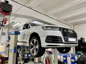 Audi SQ7, 2017,bitdi 4.0, 320kw, 8HP95A