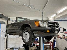 Mercede Benz SL 560, 5.5, 162kw, 1986, 722,3-4