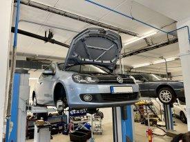 VW Golf DSG7 výměna setrvačníku a spojky