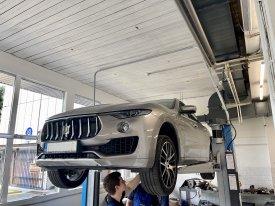 Maserati Levante 3.0,202kw,2017,ZF8HP, výměna oleje v automatu