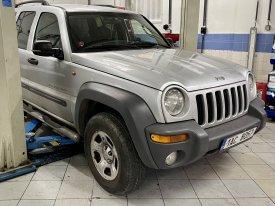 Jeep Cherokee výměna oleje v automatické převodovce