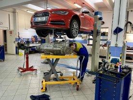 Audi 0b5 oprava převodovky