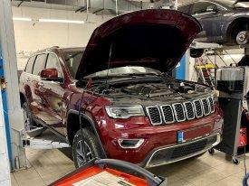 Jeep Cherokee oprava vedení olejového chlazení převodovky